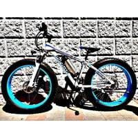 Электровелосипед Ekobike Electro blue 700W Велогибрид Экобайк Электро голубой 700Вт