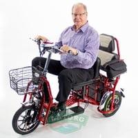 Электротрицикл E-toro Transformer двухместный 2018