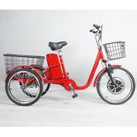 Трехколесный электровелосипед Omnibike 350 36V Красный 2018