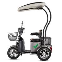 Электроскутер Trike 500W Lux - электротрицикл Greengo V5 LUX 500W с АКБ в комплекте