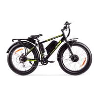 Электровелосипед Volteco Bigcat Dual 1000 черный
