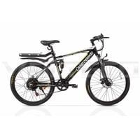Электровелосипед Volteco UBERBIKE S26 48V 500W Велогибрид Вольтеко Убербайк С26 48В 500Вт черный