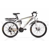 Электровелосипед Volteco UBERBIKE S26 48V 350W Велогибрид Вольтеко Убербайк С26 48В 350Вт белый